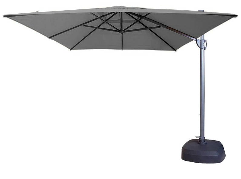 savannah 400x300 rectangular cantilever umbrella ebay. Black Bedroom Furniture Sets. Home Design Ideas