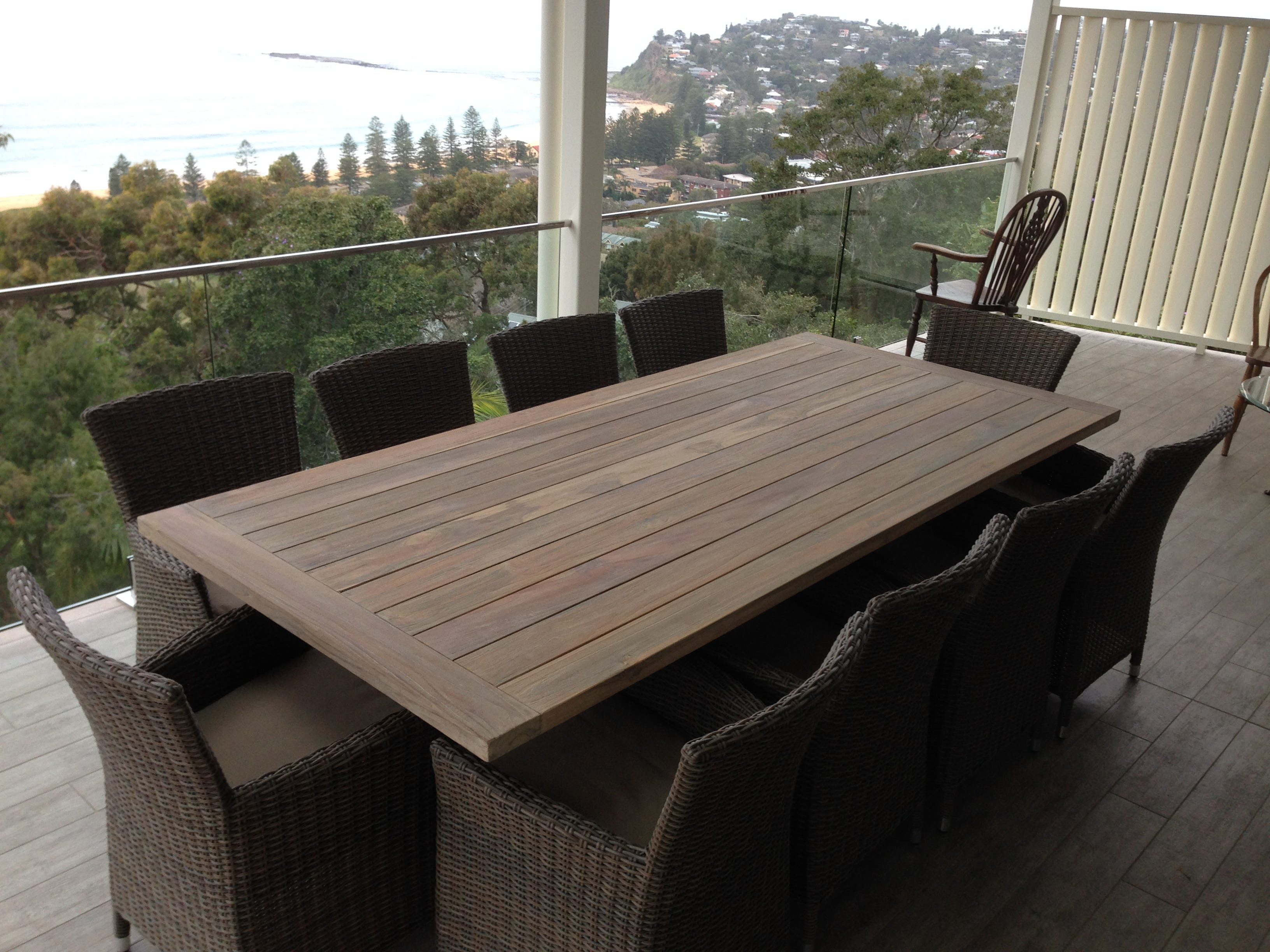 Greywash teak for Outdoor furniture erina